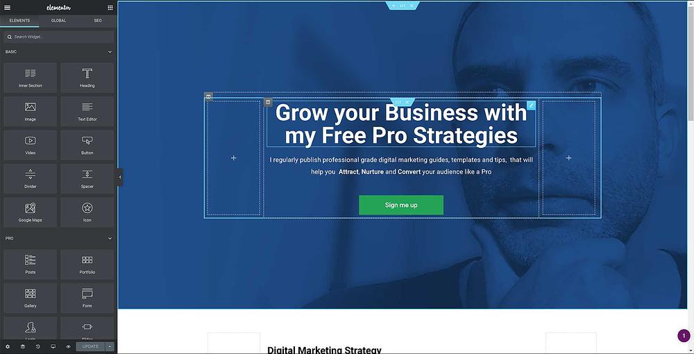 Create a niche website with WordPress - lexgabrees.com